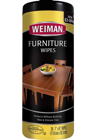 Weiman Wood Cleaner and Polish Wipes (30 Count)