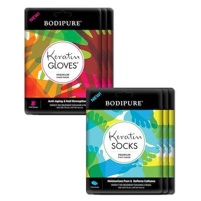 Bodipure Keratin Gloves & Socks (3 Pairs)
