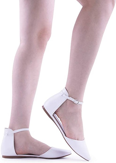 DREAM PAIRS Pointed D'Orsay Flats
