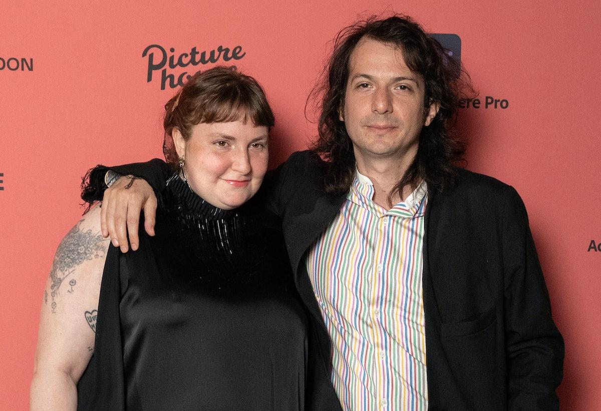 Lena Dunham and Luis Felber