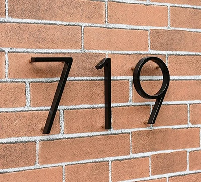 OLADOT Stainless Steel Floating House Number