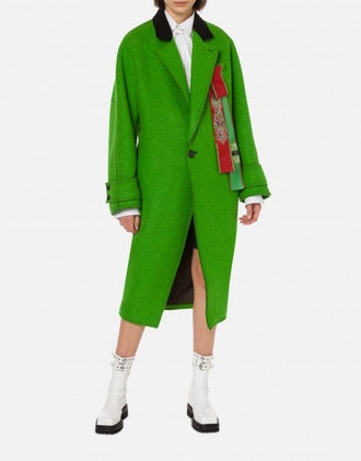 Double Cloth Rounded Coat
