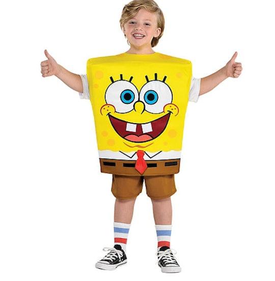 Kids SpongeBob SquarePants costume for Halloween