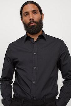 Slim Fit Easy-iron Shirt