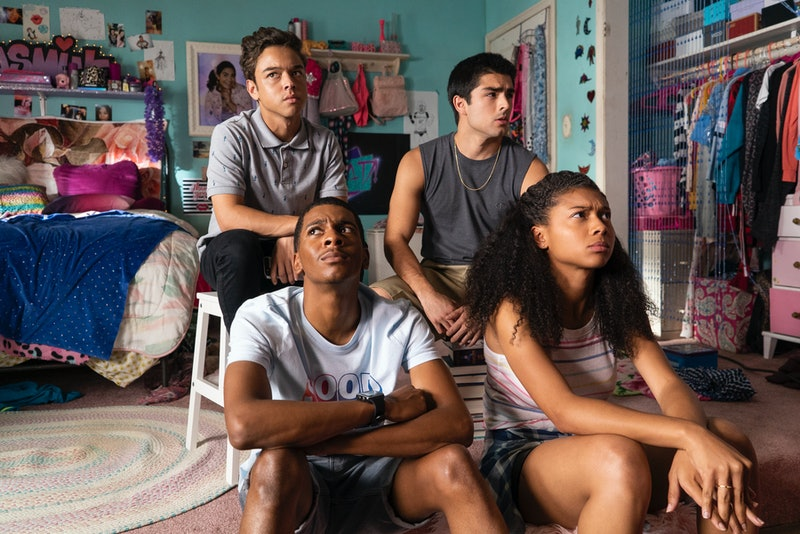 "(L to R) Ruby (Jason Genao), Jamal (Brett Gray), Cesar (Diego Tinoco) and Monse (Sierra Capri) of ""..."