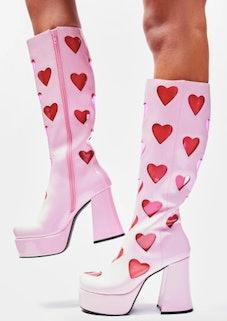 Sugar Thrillz Sweet Retro Romance Go Go Boots