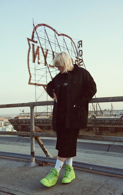 Billie Eilish x Jordan Brand sneaker collaboration.