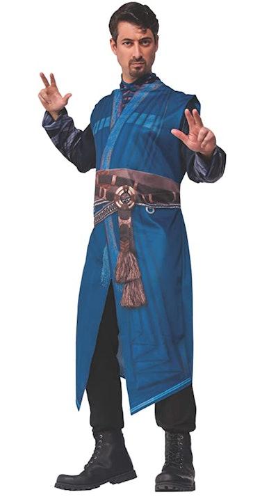Adult man dressed as Dr. Strange