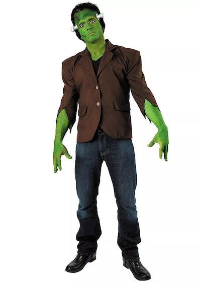 Adult in Frankenstein's Monster costume