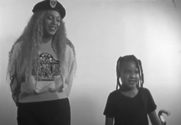 Blue Ivy in Beyoncé's 2019 Netflix documentary, 'Homecoming.'