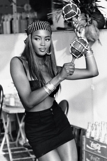 Naomi Campbell for Guess