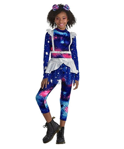 """Girl dressed in """"Galaxy"""" outfit"""