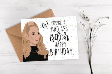 Funny Keeley Jones Birthday Card
