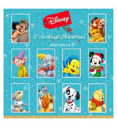 Disney 12 Socks of Christmas Advent Calendar