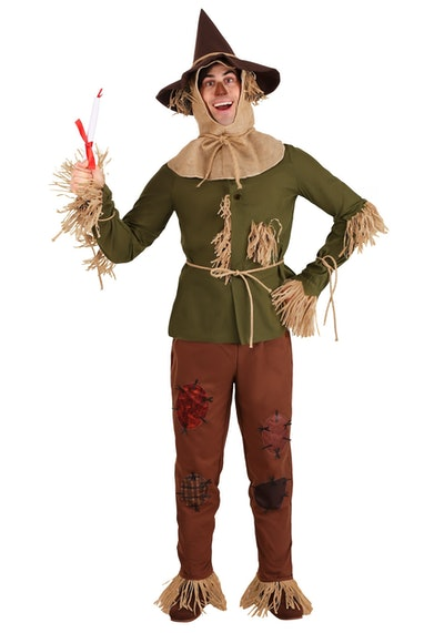"""Adult dressed as Scarecrow from """"The Wizard of Oz"""""""