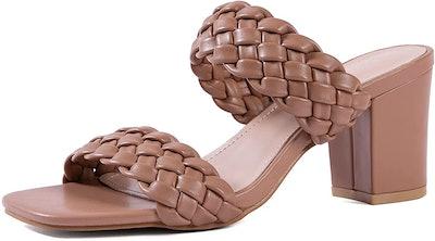 N.N.G Heeled Block Sandal