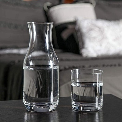 Lily's Home Water Carafe With Tumbler Glass