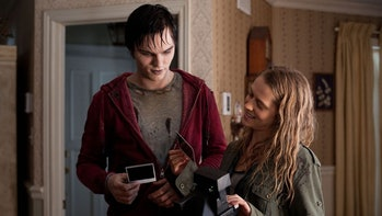 Nicholas Hoult plays a zombie in this unlikely rom-com.