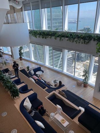 WeWork's Salesforce Tower location.