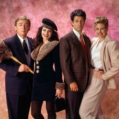 an image of the nanny cast from the pilot episode