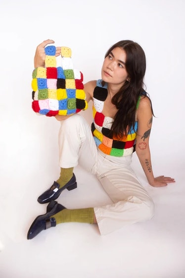 crochet tank