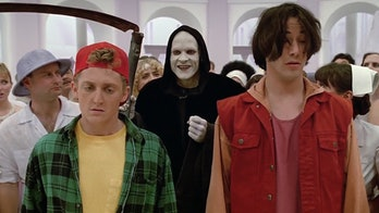 Bill and Ted meet the grim reaper.