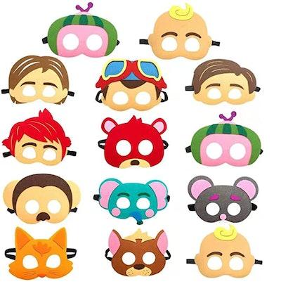 CoComelon character masks