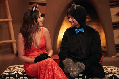 The Bachelor Halloween costume: Connor Brennan in his cat onesie