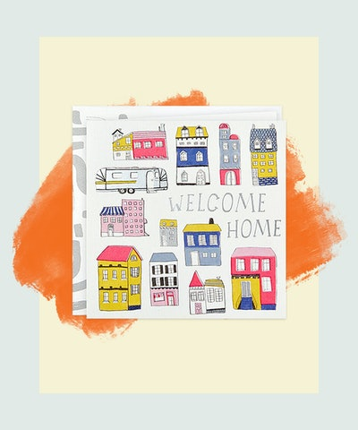 Here's to Your New Happy Place New Home Card