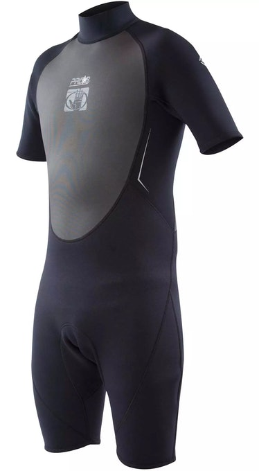 Quinn often wears a wetsuit on 'The White Lotus.'