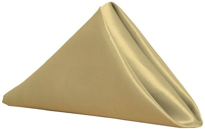 Your Chair Covers Satin Cloth Napkins (10-Pack)