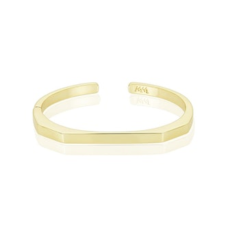 Gold Goddess Cuff bracelet from Melinda Maria.