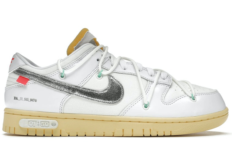 """Nike x Off-White """"The 50"""" Dunk Low sneaker"""