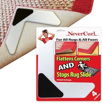 NeverCurl 3 Layer Rug Corners Grippers