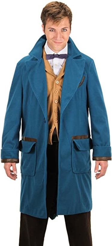 Newt Scamander Halloween Costume Coat from Fantastic Beasts