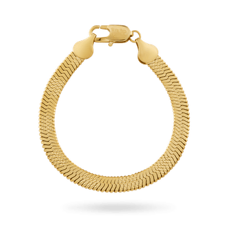 6MM Herringbone bracelet from IceLink.