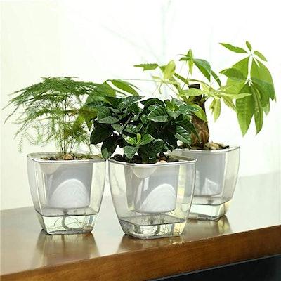 FENGZHITAO Self-Watering Planters (3-Pack)