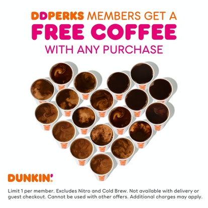National Coffee Day 2021 deals on Sept. 29 include free coffee from Dunkin'.