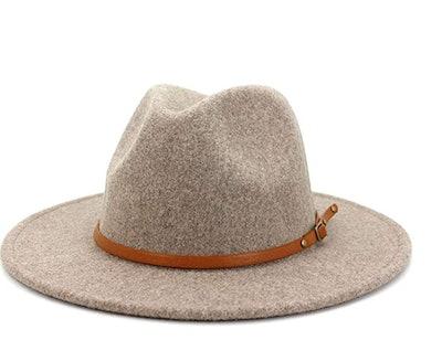 Lisianthus Wool Wide Brim Hat