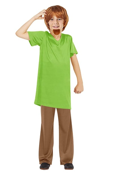 """Young boy dressed as Shaggy from """"Scooby Doo"""""""
