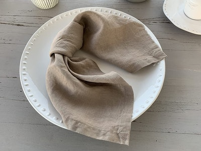 Eight Owls French Linen Napkins (4-Pack)