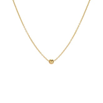 Classic gold-filled necklace from BYCHARI.
