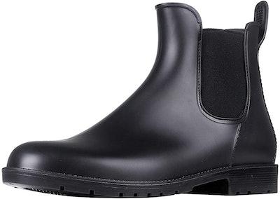 Asgard Ankle Rain Boots Waterproof Chelsea Boots