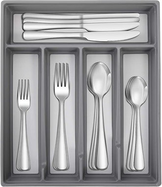 HIWARE Stainless Steel Flatware Set (20-Piece)