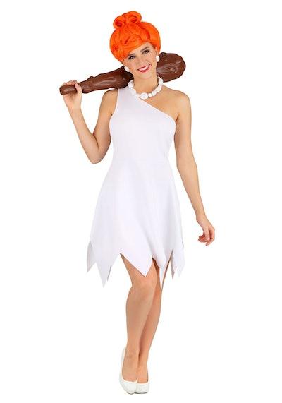 Woman dressed as Wilma Flintstone
