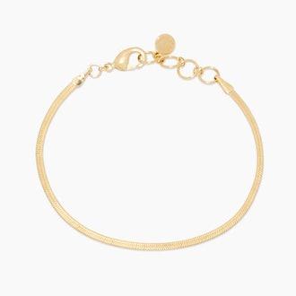 Venice Mini gold bracelet from gorjana.