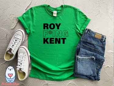 This Roy Kent shirt is one of many 'Ted Lasso' shirts available on Etsy.