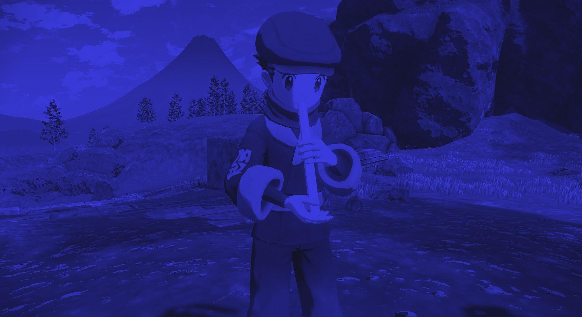 Pokémon Legends: Arceus flute