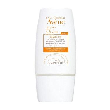 Eau Thermale Avène Solaire UV Mineral Multi-Defense Sunscreen SPF 50+