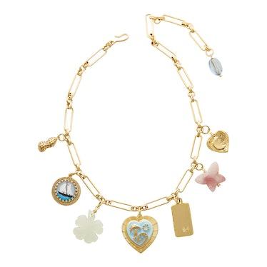 Mischief Managed Charm Necklace Brinker And Eliza